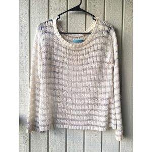 Alice+Olivia Metallic striped sweater . Size S